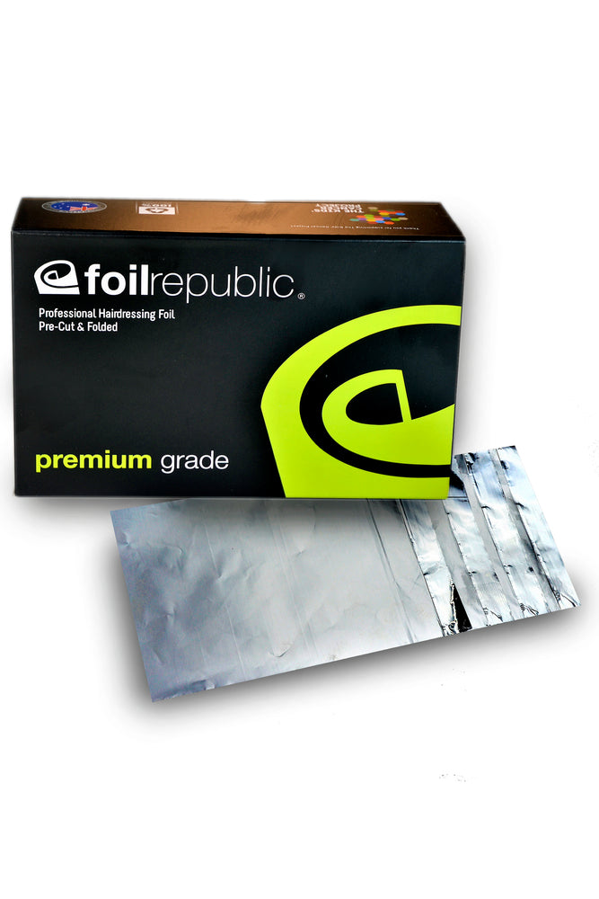 Foil Republic Premium Grade Pre-Cut & Folded Hairdressing Foil 12cm x 20cm