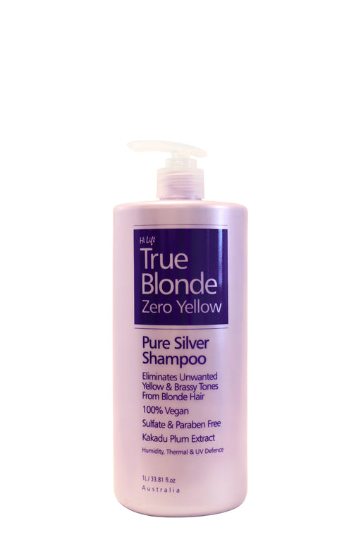 HiLift True Blonde Zero Yellow Shampoo 1lt