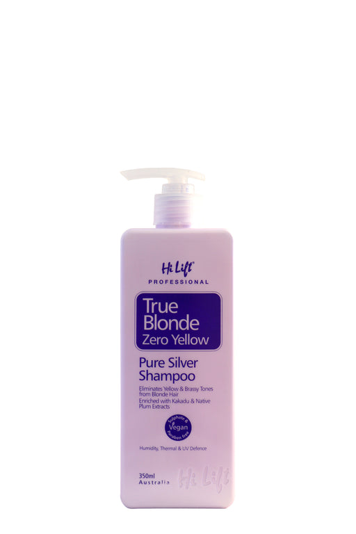 HiLift True Blonde Zero Yellow Shampoo 350ml