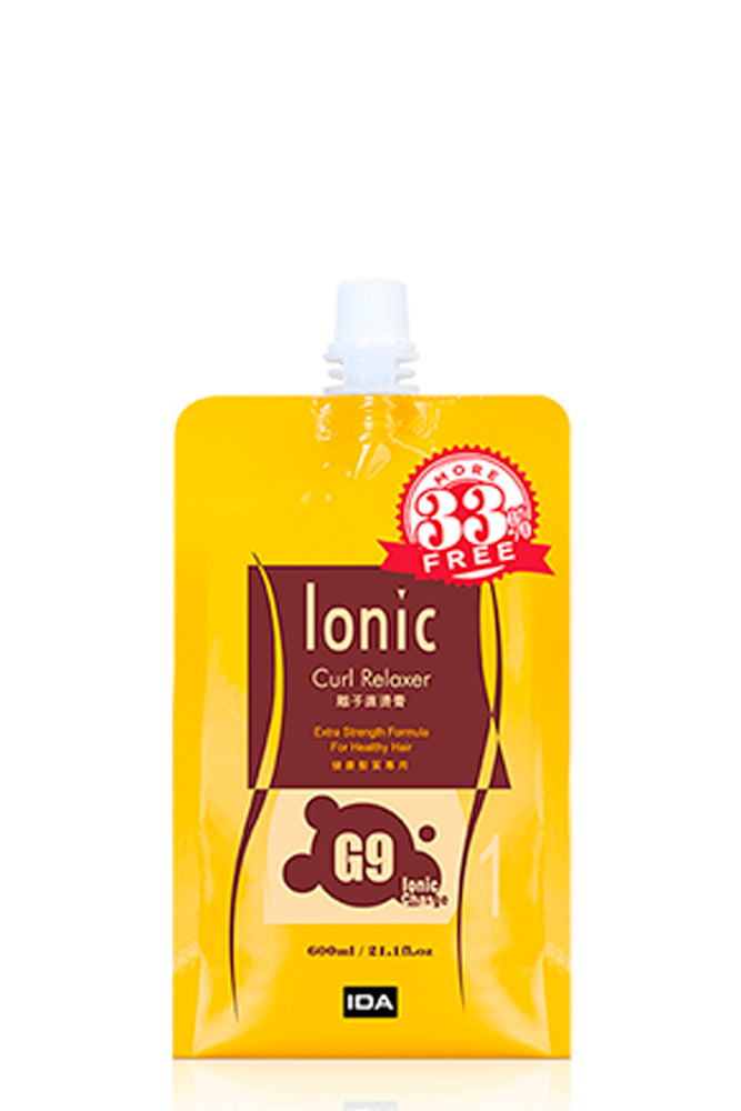 Ionic Curl Relaxer G9 - Extra strength for normal, healthy hair 600ml