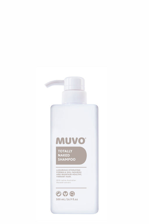 Muvo Totally Naked Shampoo 500ml
