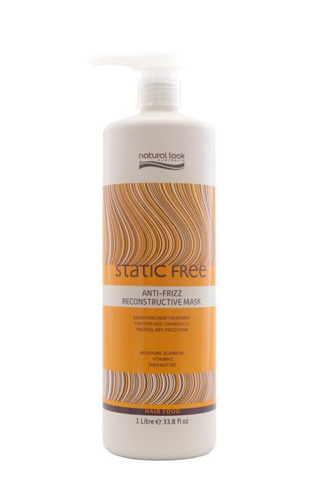 Natural Look Static Free Anti-Frizz Reconstructive Mask 1lt