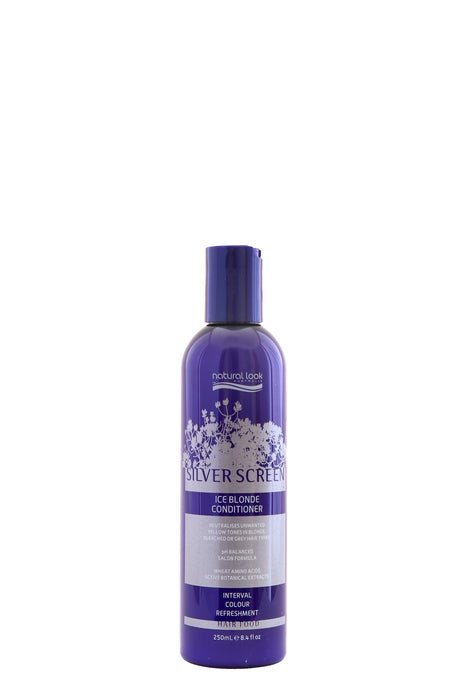 Natural Look Silver Screen Ice Blonde Conditioner 250ml