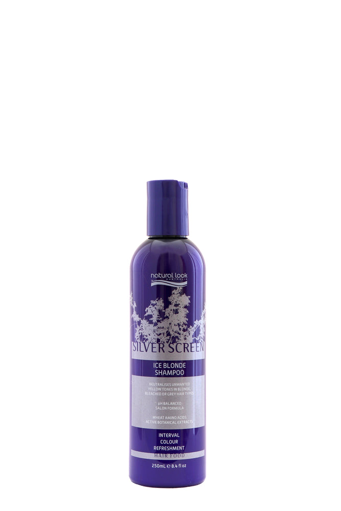 Natural Look Silver Screen Ice Blonde Shampoo 250ml