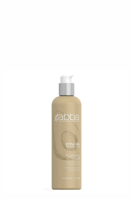 Abba Styling Gel Medium Hold 177ml