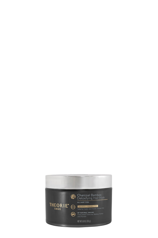 Theorie Charcoal Bamboo Detoxifying Hair Mask 193g
