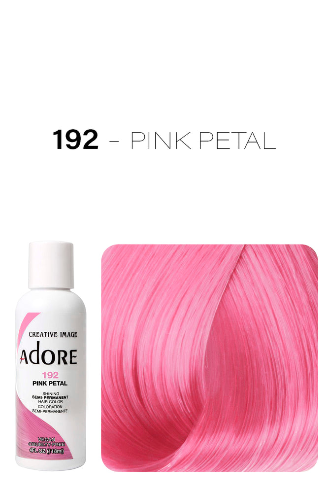 Adore Shining Semi Permanent Hair Colour 118ml - 192 Pink Petal