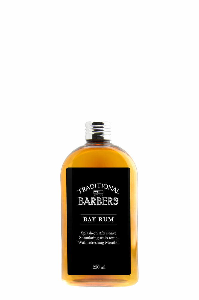 Wahl Traditional Barbers Bay Rum Aftershave 250ml