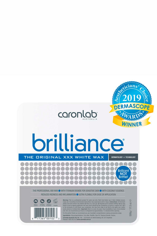 Caronlab Brilliance White Hard Wax 500g