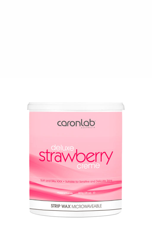 Caronlab Deluxe Strawberry Strip Wax Creme 800g