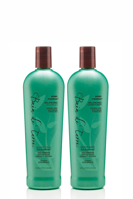 Bain de Terre Shampoo & Conditioner Christmas Pack - Green Meadow