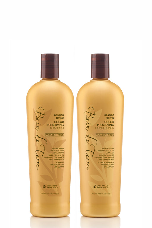 Bain de Terre Shampoo & Conditioner Christmas Pack - Passionflower