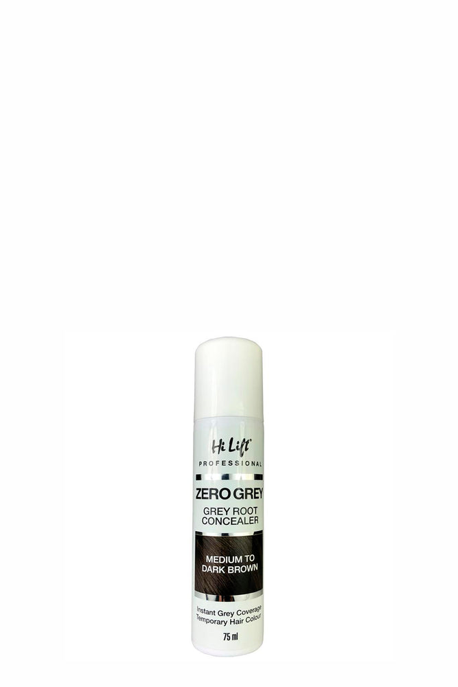 HiLift Zero Grey Root Concealer - Medium to Dark Brown 75ml
