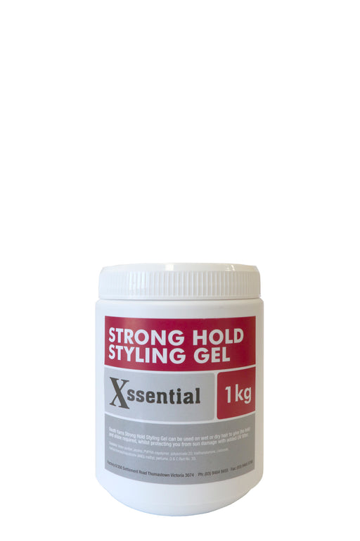 SY Xssential Strong Hold Styling Gel 1kg