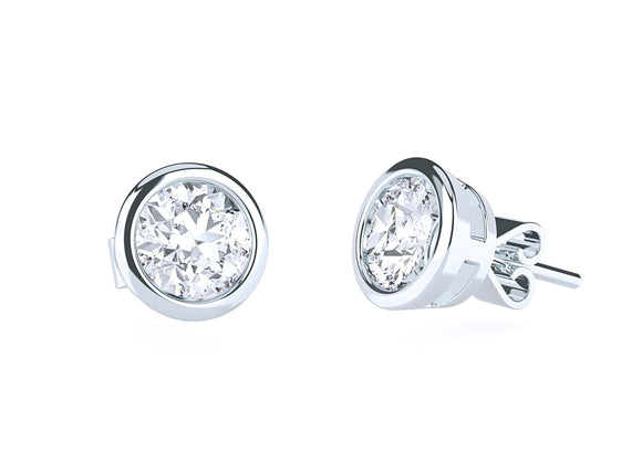 Adrian Diamond Earrings