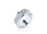Men's celtic design wedding ring