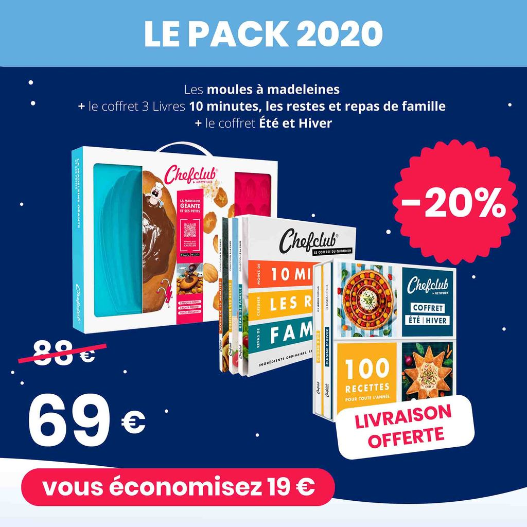 Le Pack 2020 Chefclub