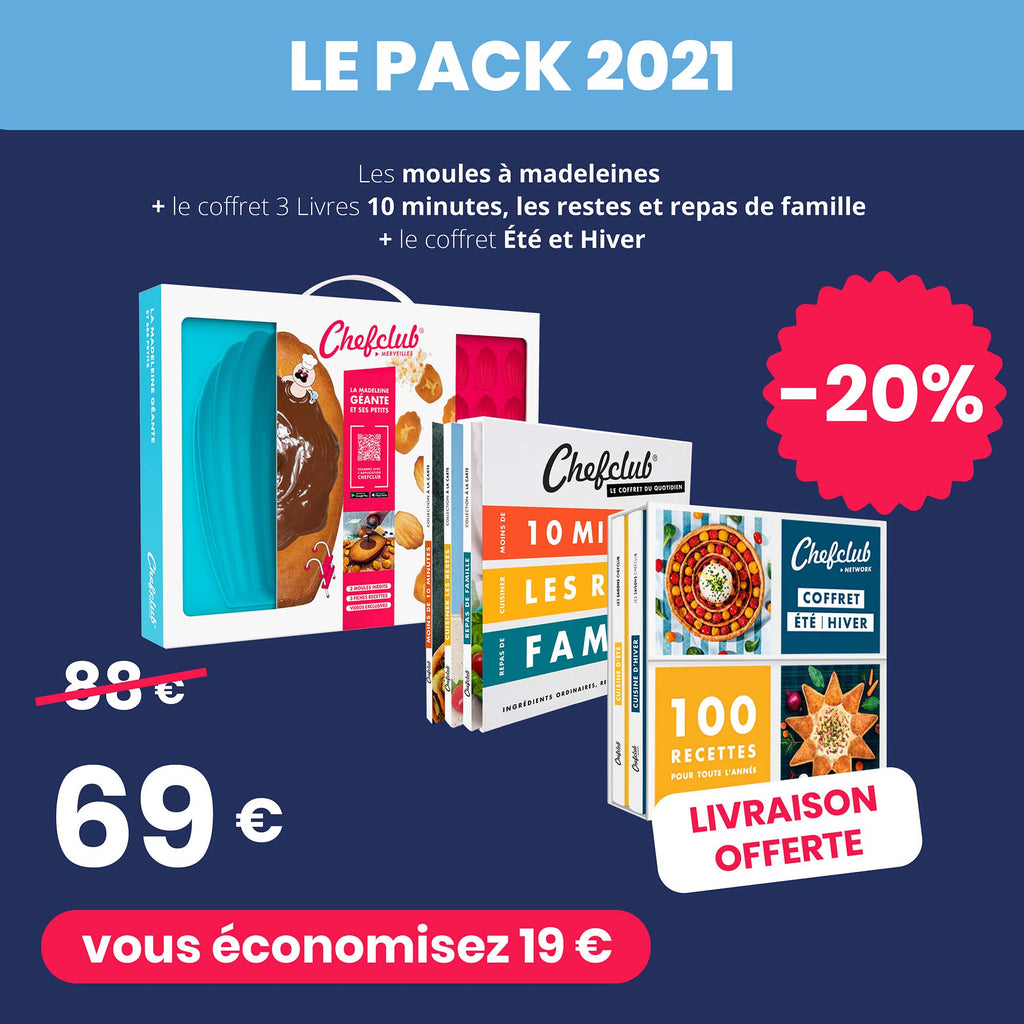 Le Pack 2021 Chefclub