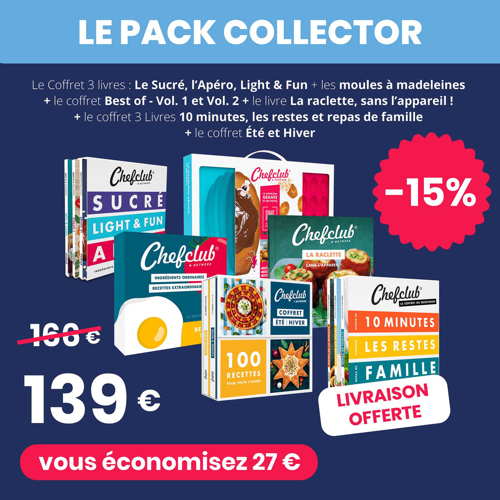 Le pack Collector Chefclub