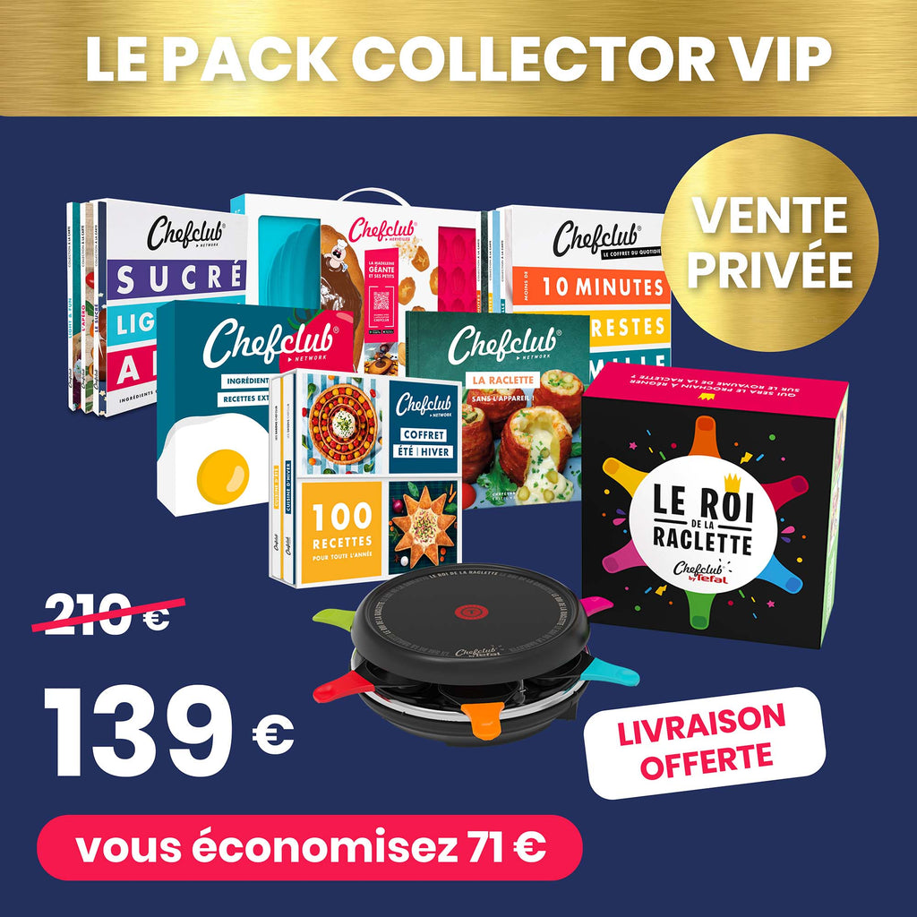 Vente privée - Pack Collector VIP