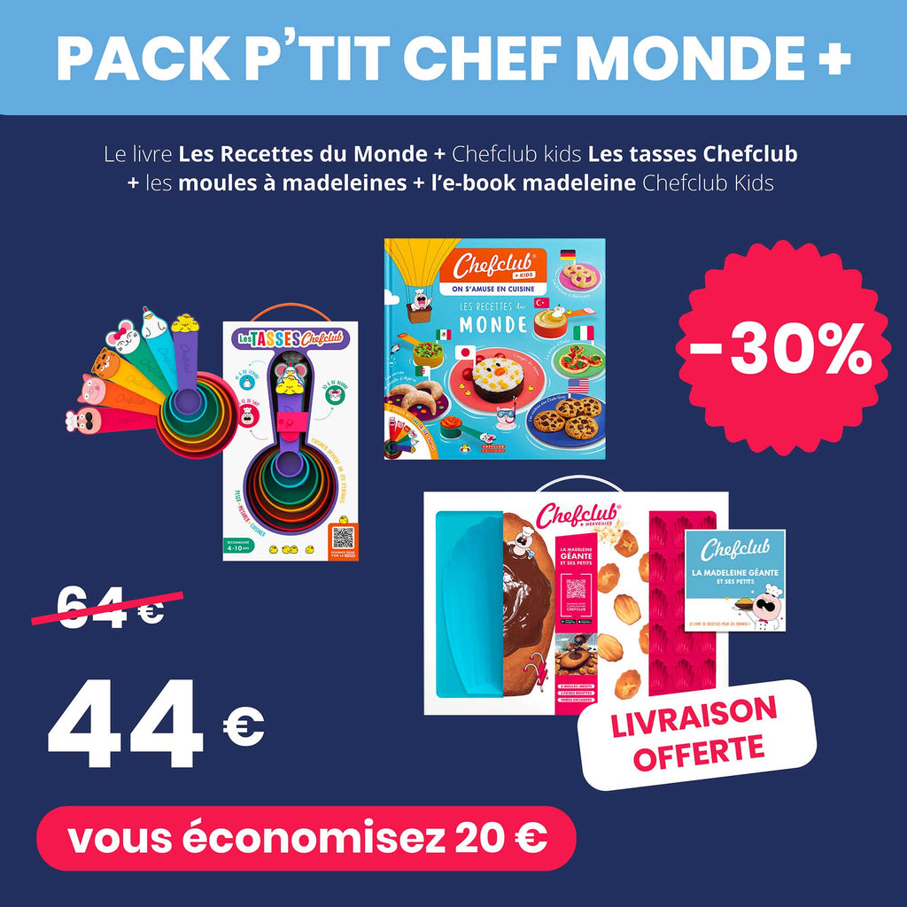 Le Pack P'tit Chef Monde +