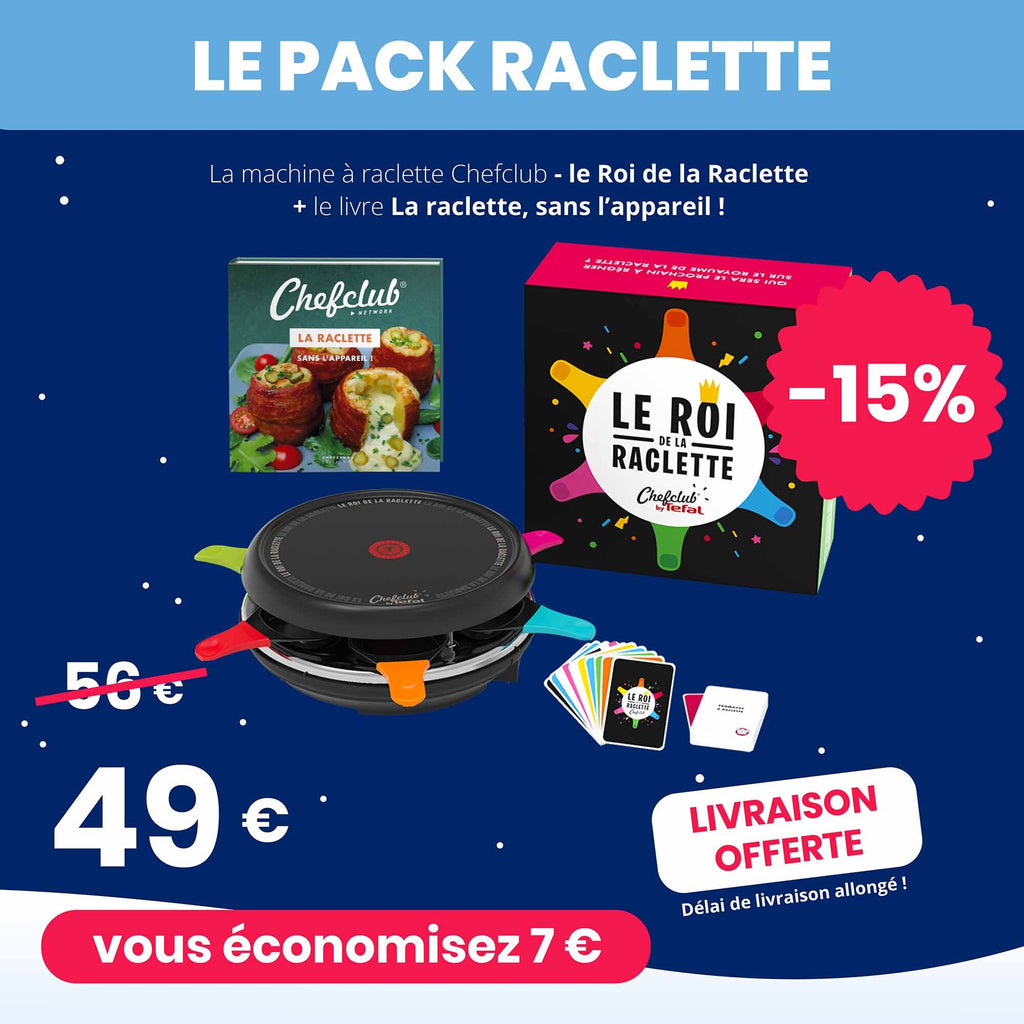 Le Pack Raclette Chefclub