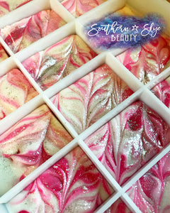 Rosy Snow Fairy Artisan Soap