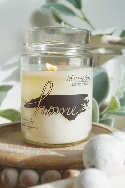 Custom Candle Label - Home State