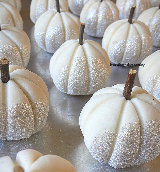 Pumpkin Bubble Bar - Peppermint - DISCOUNTED