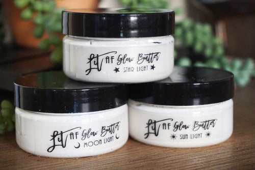 Lit AF Glow Butter - All Over Body Highlight