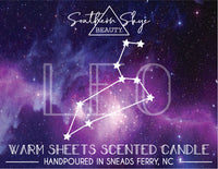 Custom Candle Label - Star Sign - Constellation