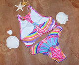 CueAir Lead The Trend Tank Bikini Set
