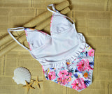 CueAir Sweet Summer Floral One-piece Swimwear