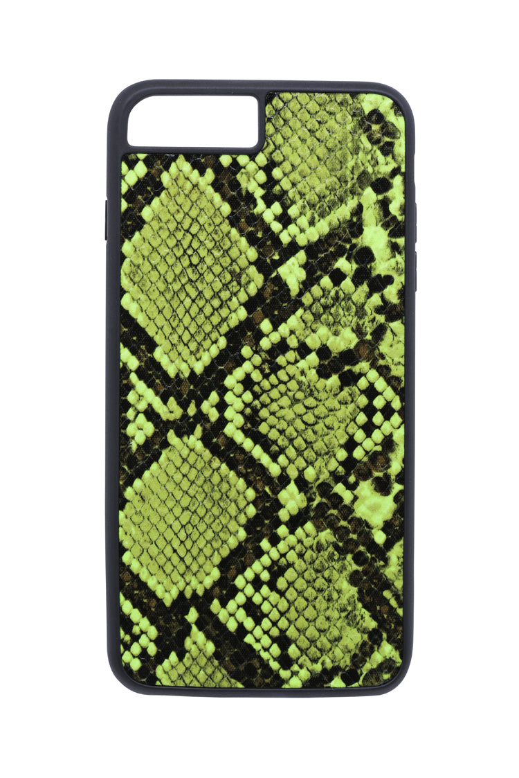 NEON GREEN SNAKESKIN CASE