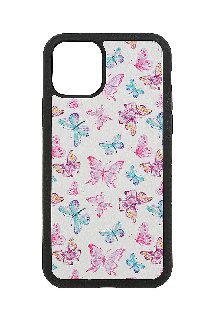 WHITE BUTTERFLY CASE