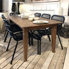Solid Teak Farmhouse Table