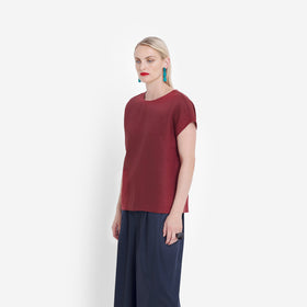 Hersom Shell Top - Paprika