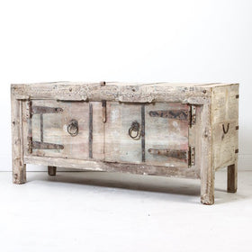 Khan Bleached Timber Chest