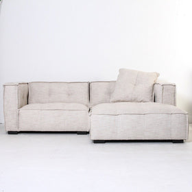 Elementa Sofa with Chaise - Natural