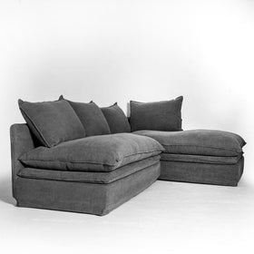 Asphalt Sofa 2 Piece