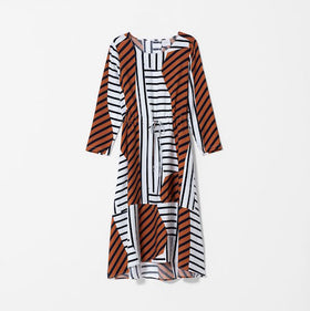 Fenes Dress Stripe