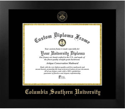 Columbia Southern University Diploma Frame