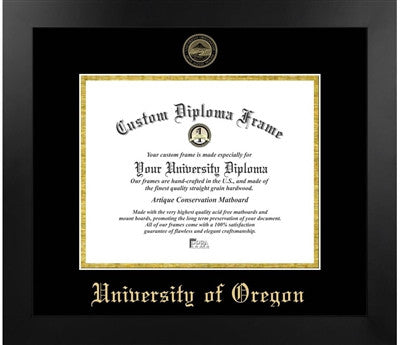 University of Oregon Most Popular Diploma Frame