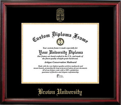 Affordable Cherry Finish Mahogany Wood Diploma Frame