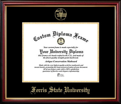 Affordable Cherry Mahogany Diploma Frame