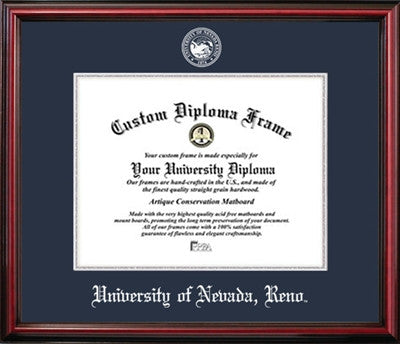 University of Nevada Reno Affordable Diploma Frame