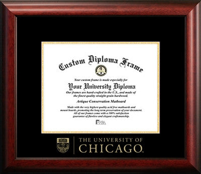 Affordable, Satin Finish, Mahogany Wood Diploma Frame