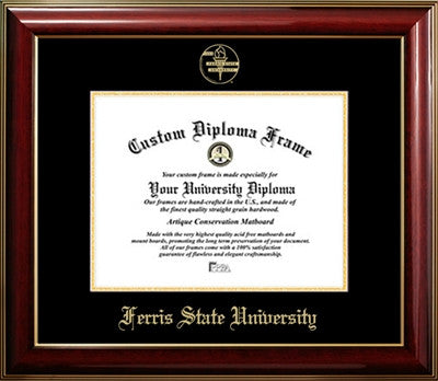Ferris State University Traditional Diploma Frame