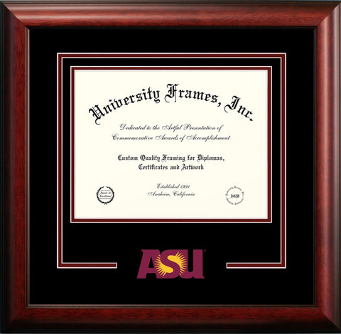 Arizona State University Mascot Diploma Frame