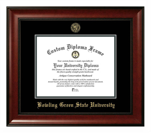 Bowling Green State University Revere Diploma Frame